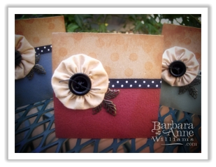 Handcrafted Cards with Yo Yo Embellishment