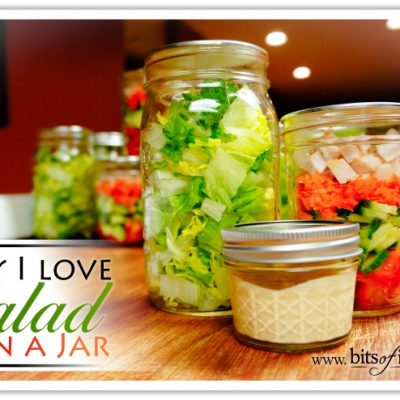 Why I love Salad In A Jar – A Pinterest Story