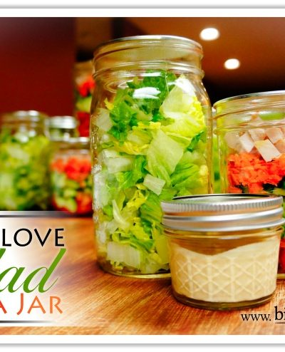 Why I Love Salad In A Jar | www.bitsofivory.com