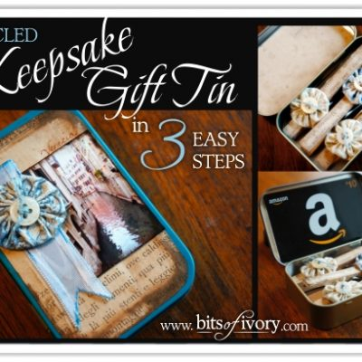 How to Make a Keepsake Gift Tin in 3 Easy Steps