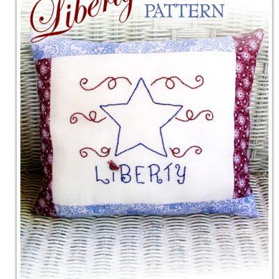 Liberty Embroidery Pattern