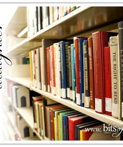 The Librarian's Daughter - A Mother's Day Tale plus printable bookmarks   www.bitsofivory.com