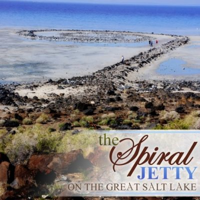 The Spiral Jetty – Places to See
