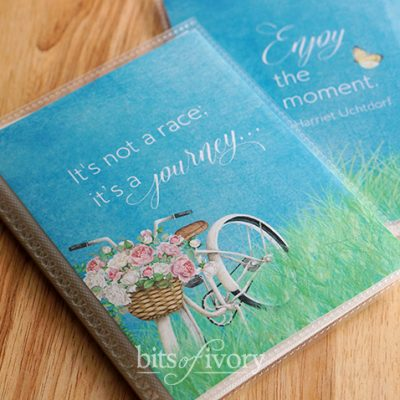 How to Upcycle an Inexpensive Brag Book for Mother's Day