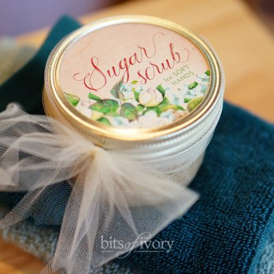 Make This Luxurious Sugar Scrub Gift for Mother's Day