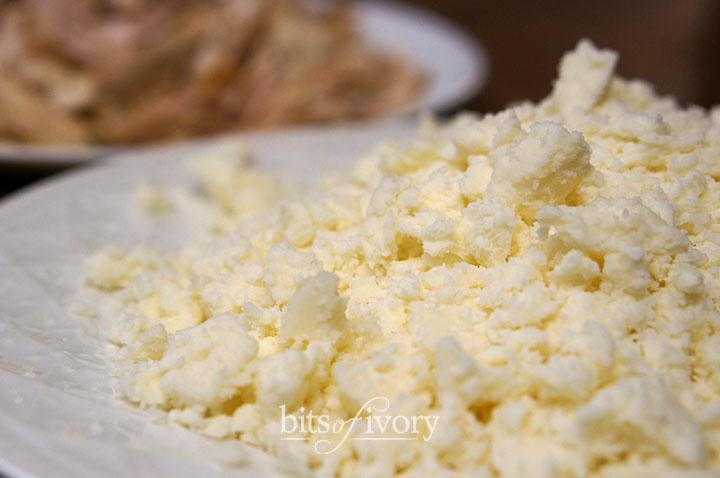 Crumbled queso fresco