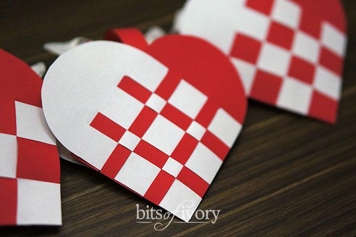 Danish Christmas Heart Baskets | Julehjerter