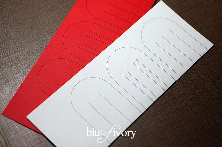 Danish Christmas Heart Baskets | Julehjerter | Printable Template