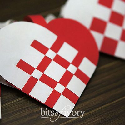 How to make Beautiful Danish Heart Baskets – Free Template