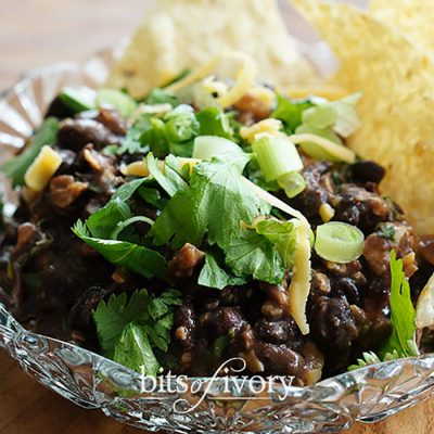 You'll Love This Fresh and Easy Bean Dip for New Year's