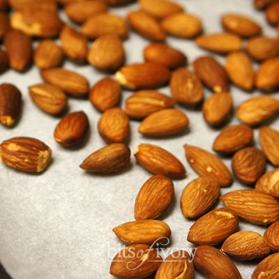 Ridiculously Easy & Delicious Roasted Almonds
