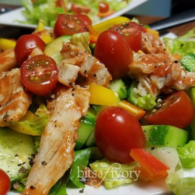 Buffalo Chicken Garden Salad