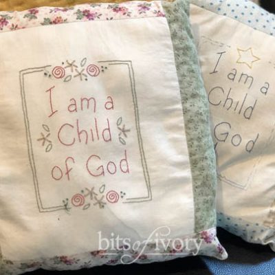 """3 Sweet Little """"Child of God"""" Patterns to Stitch for Free"""
